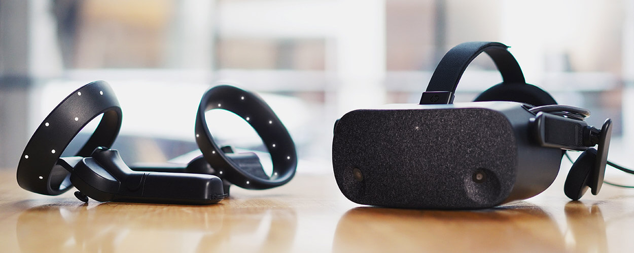 HP Reverb VR 헤드셋