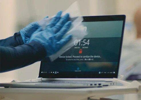 업무용 노트북, 위생관리는 하고 계신가요?
