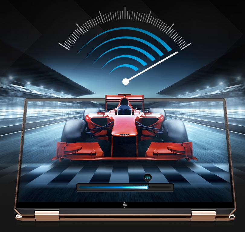 Super-fast Gigabit WiFi and optional 4G LTE